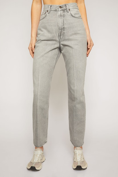 Relaxed Tapered Jeans Stone Grey