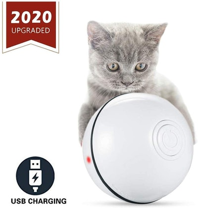 ELEBOOT Interactive Cat Toy Ball
