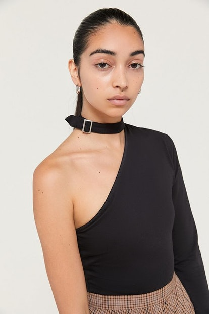 UO Buckle One-Shoulder Top