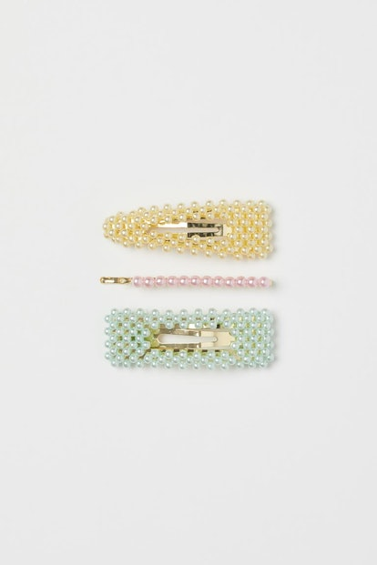 H&M 3-Pack Beaded Hair Clips