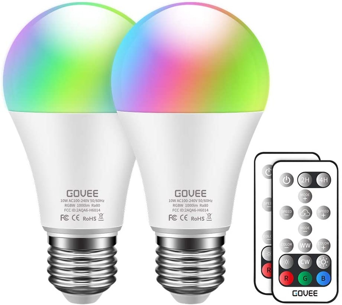 Govee Color Changing Light Bulbs (2-pack)