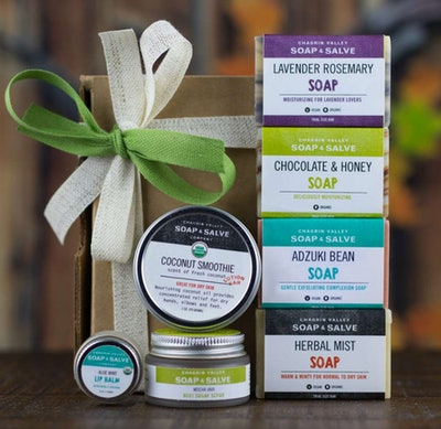 Natural Skin Care Sampler Gift