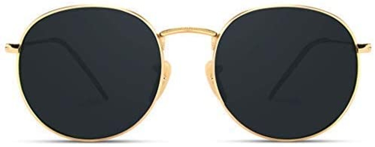 WearMe Pro Reflective Lens Round Trendy Sunglasses