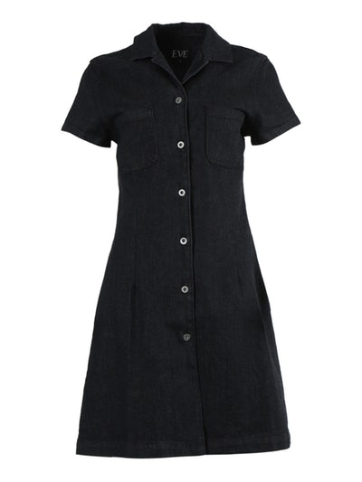 Carlotta Denim Dress Black