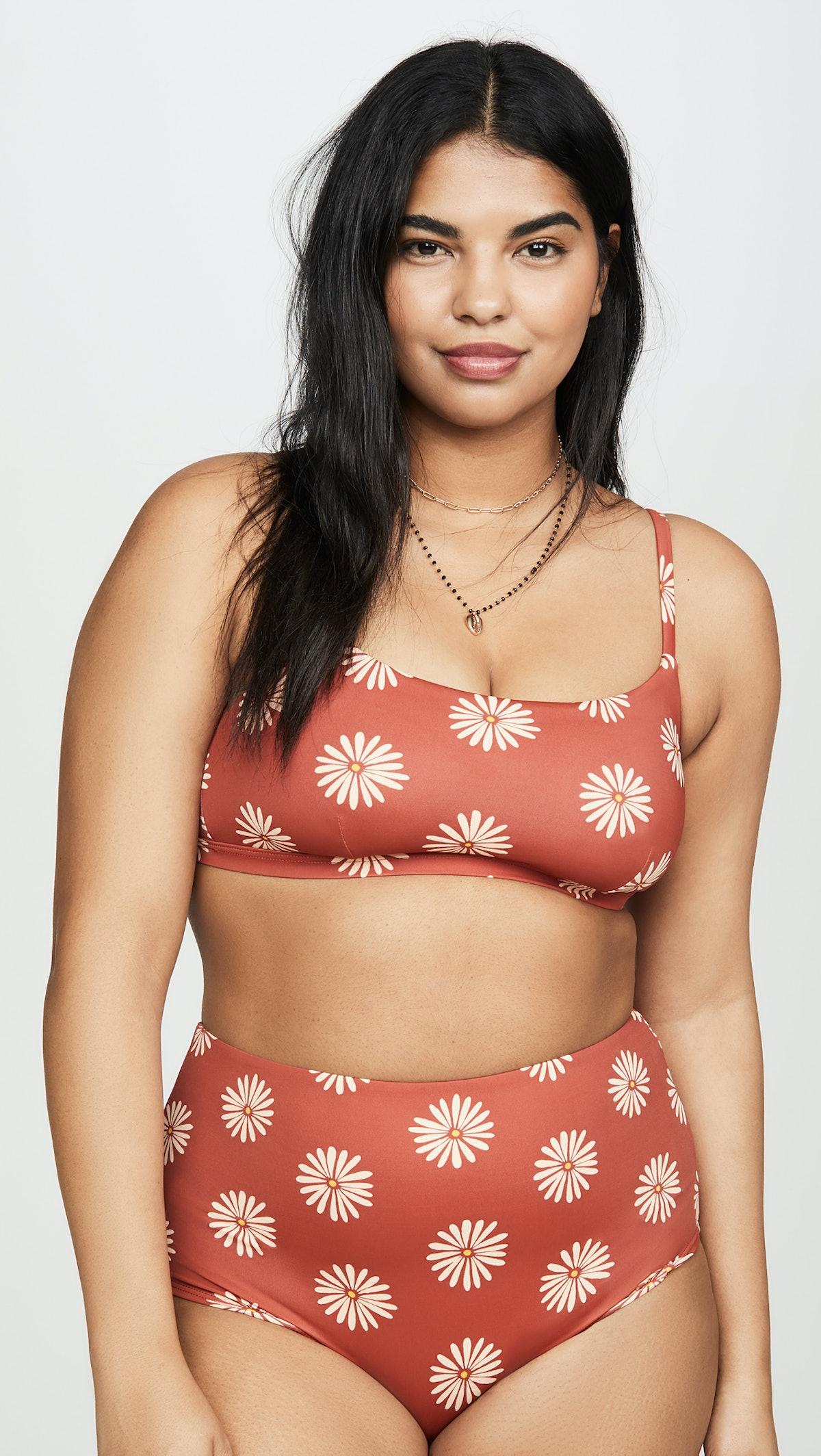Second Wave Sport Bikini Top