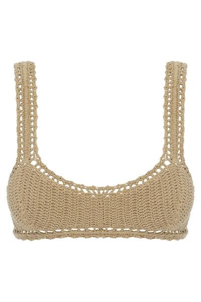 Essential Crochet Cop Bikini Top