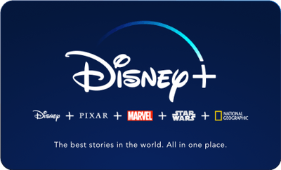 Disney+ Annual Gift Subscription