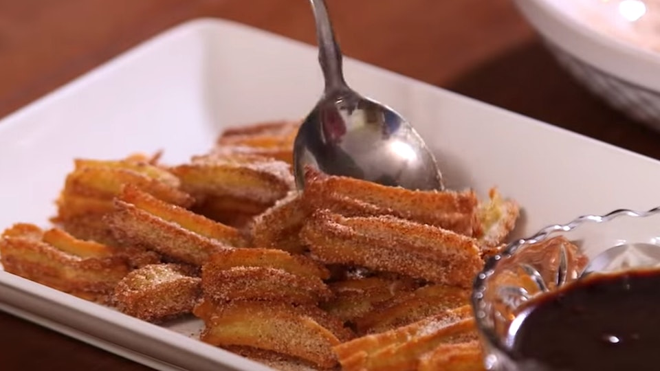 Disney is now releasing their recipe for churro bites while the Disney theme parks are closed.