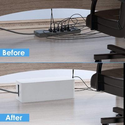 Yecaye Cable Organizer Box (Set Of 2)