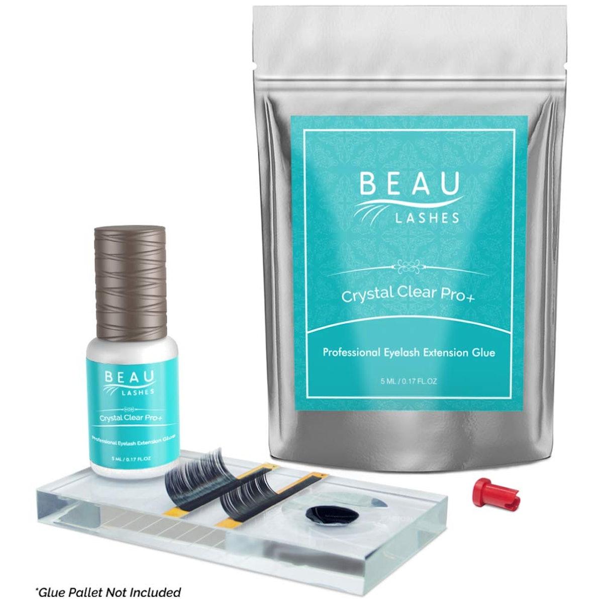 Beau Lashes Crystal Clear Professional Eyelash Extension Glue