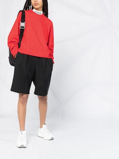 Loose-fit logo sweatshirt