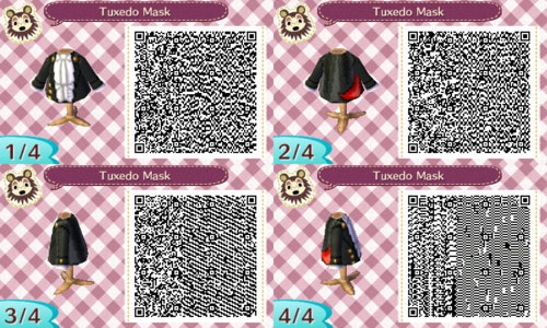 Animal Crossing New Horizons Designs 10 Qr Codes For Sailor Moon Outfits