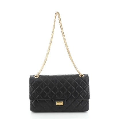 Reissue 2.55 Flap Bag Quilted Aged Calfskin 226