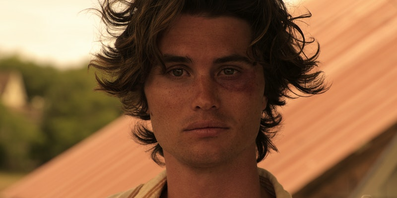 Chase Stokes stars as John B on Outer Banks.