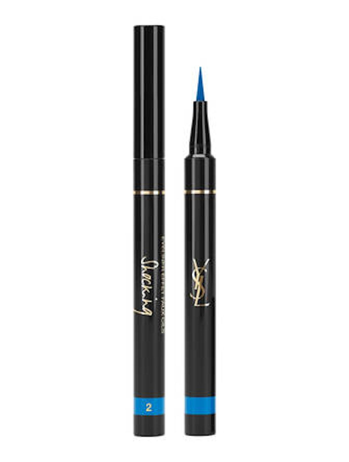 Yves Saint Laurent Eyeliner Effect Faux Cils Shocking in Majorelle Blue