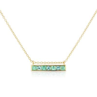 Jane Taylor Cirque Horizontal Bar Necklace