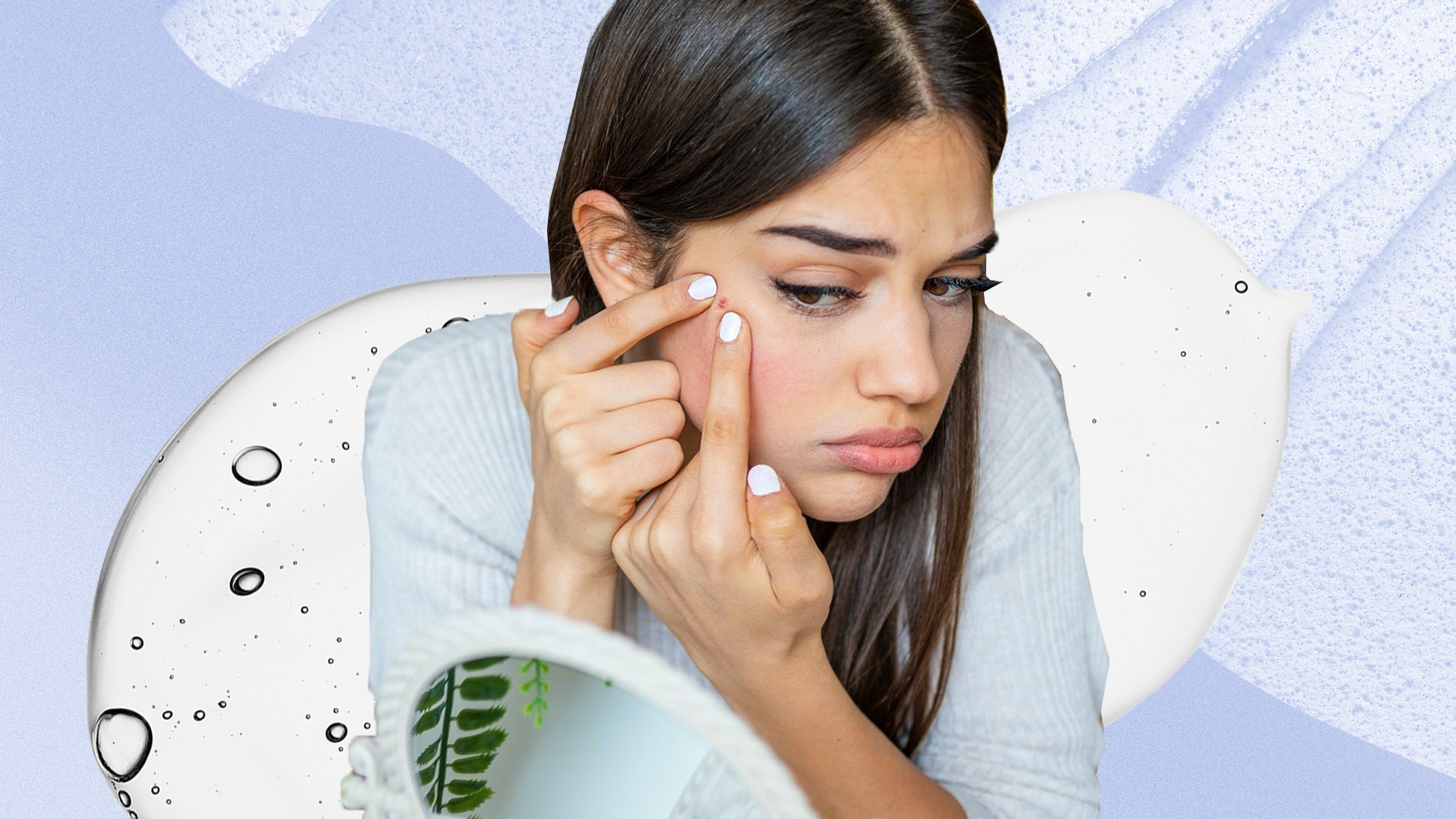 how to get pimples away overnight