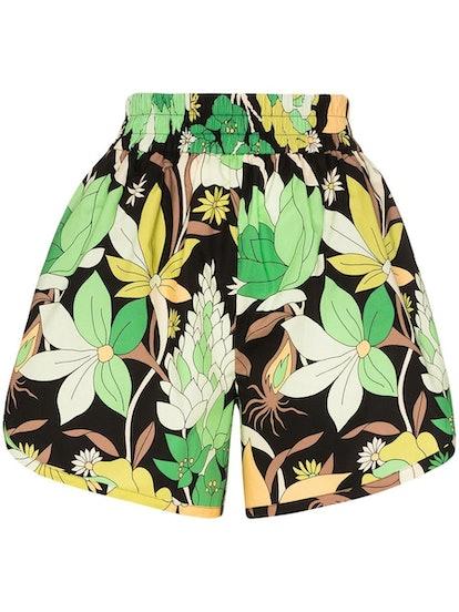 Green Dream Garden Shorts