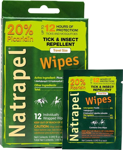 Natrapel Insect Repellent Wipes (12-pack)