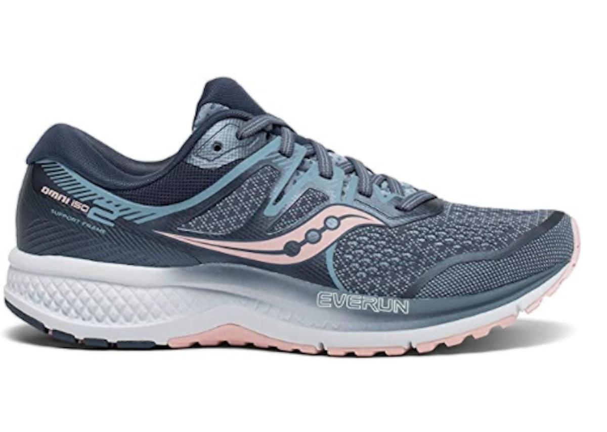 Saucony Women's Omni ISO 2 Running Shoe (9.9 Ounces)