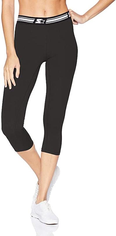 "Starter Women's 20"" Light-Compression Athletic Capri Legging"
