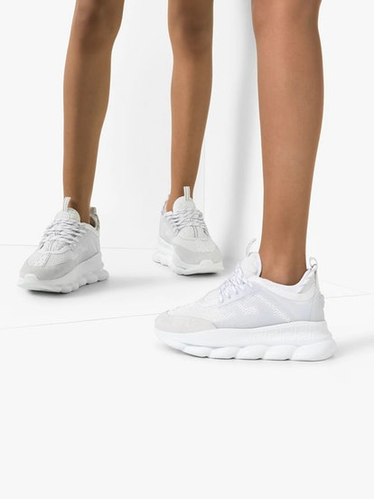 Chain Reaction light mesh sneakers