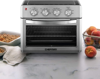 Chefman Stainless Steel Air Fryer Toaster Oven