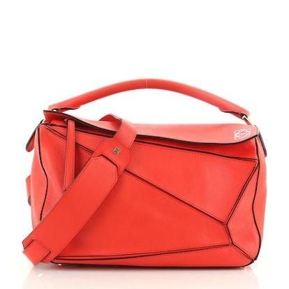 Puzzle Bag Leather Medium