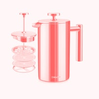 Heavy metal: Muëller's insulated French press will change your whole coffee game
