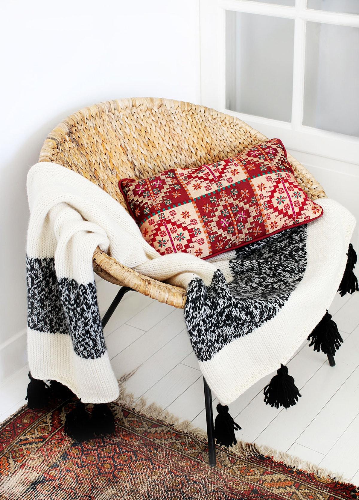 The Kilim Blanket Knitting Kit