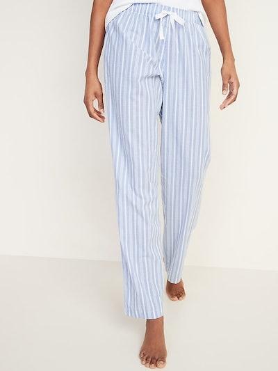Old Navy Printed Poplin Pajama Pants