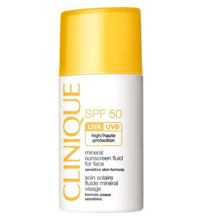 Clinique Mineral Sunscreen Fluid for Face
