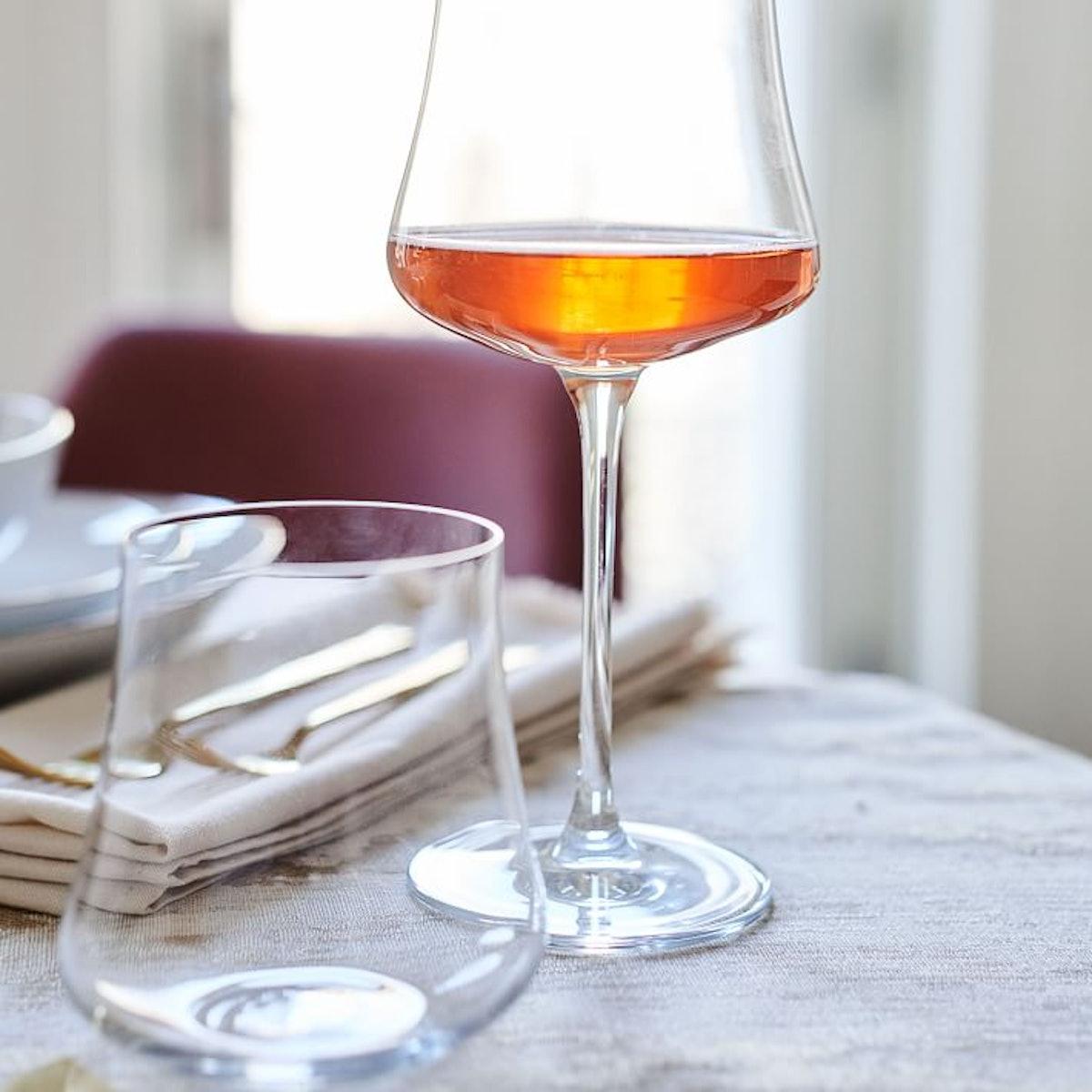 Hipped Glassware