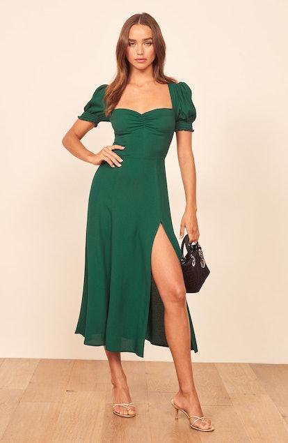 Lacey Smocked Sleeve Dress