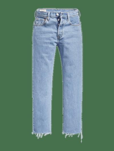 Levi's Original Stretch Cropped Women's Jeans In Tango Tunes