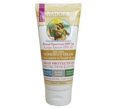Badger Organic Sunscreen