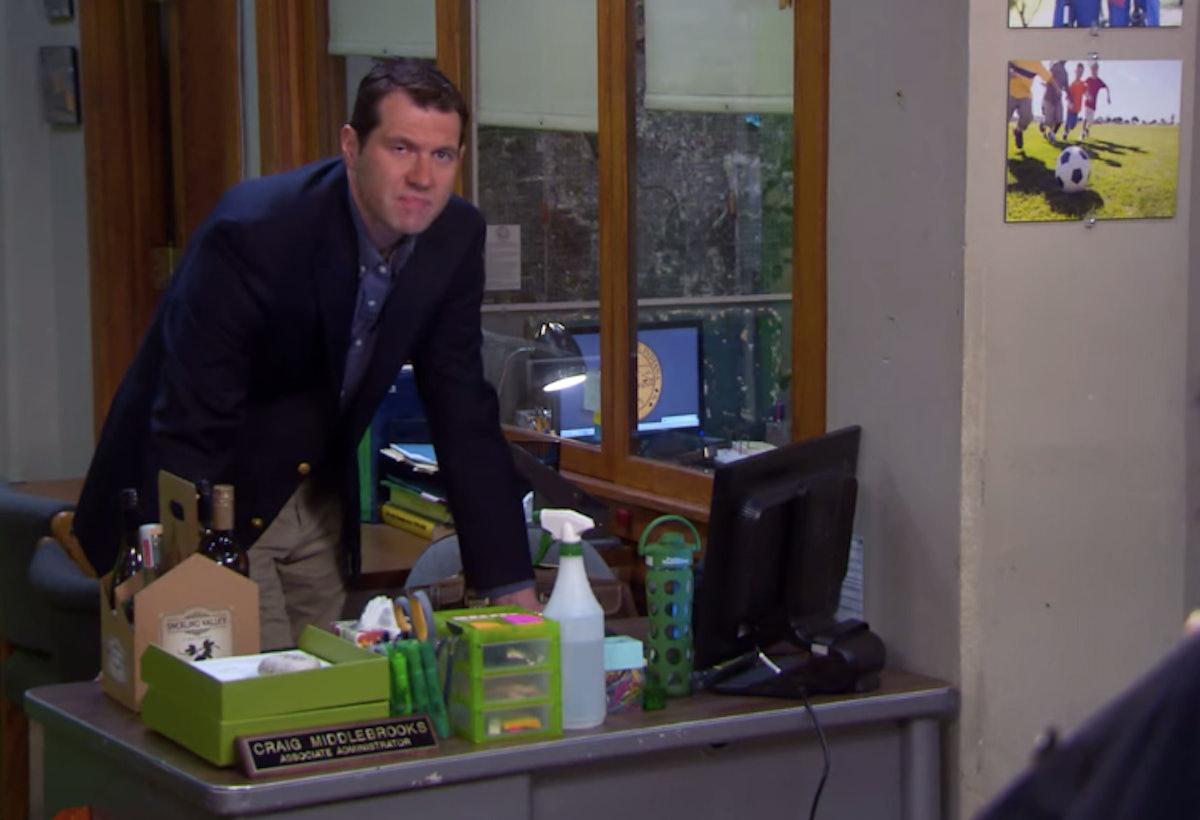 Billy Eichner as Craig in 'Parks & Recreation'