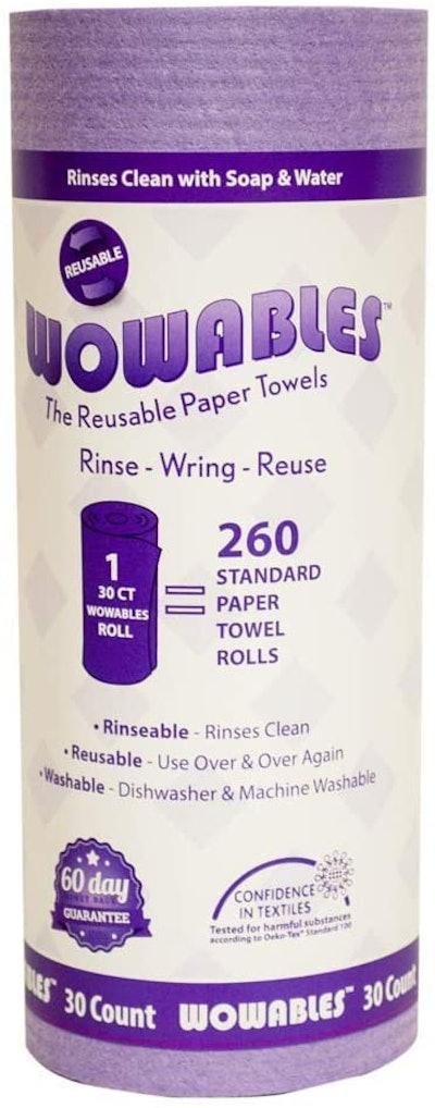 Lola Wowables Reusable & Biodegradable Paper Towel