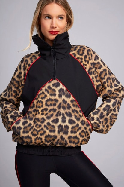 Leopard Goals Windbreaker