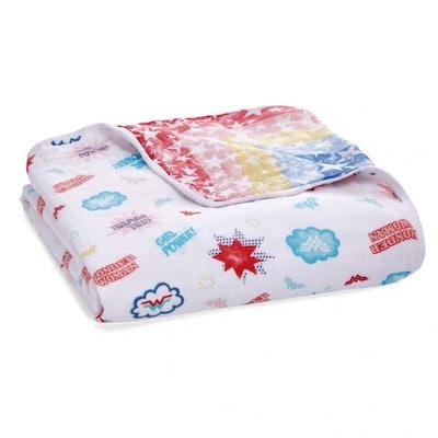 wonder woman™ essentials cotton muslin dream blanket
