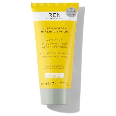 REN Clean Screen Mineral Sun Cream SPF 30