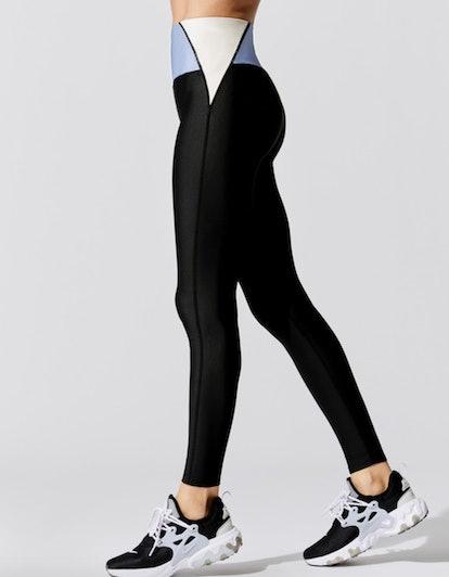 Colorblock High Rise Full Length Legging
