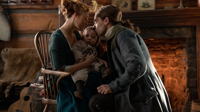 Brianna and Roger remain in the past on Outlander.