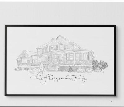 Custom Architectural Sketch