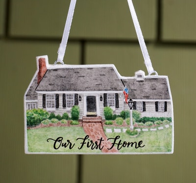Personalized Home Ornament