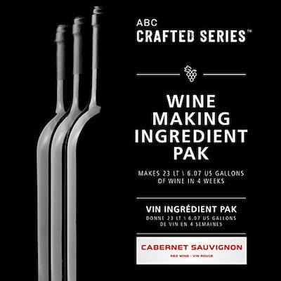 ABC Crafted Series Wine Making Ingredient Pak