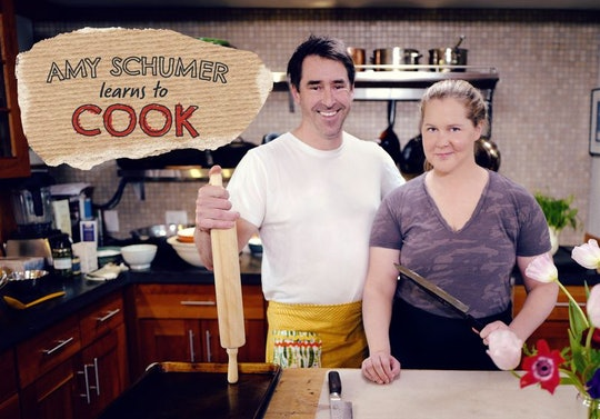 Amy Schumer Learns to Cook premieres on the Food Network next month.