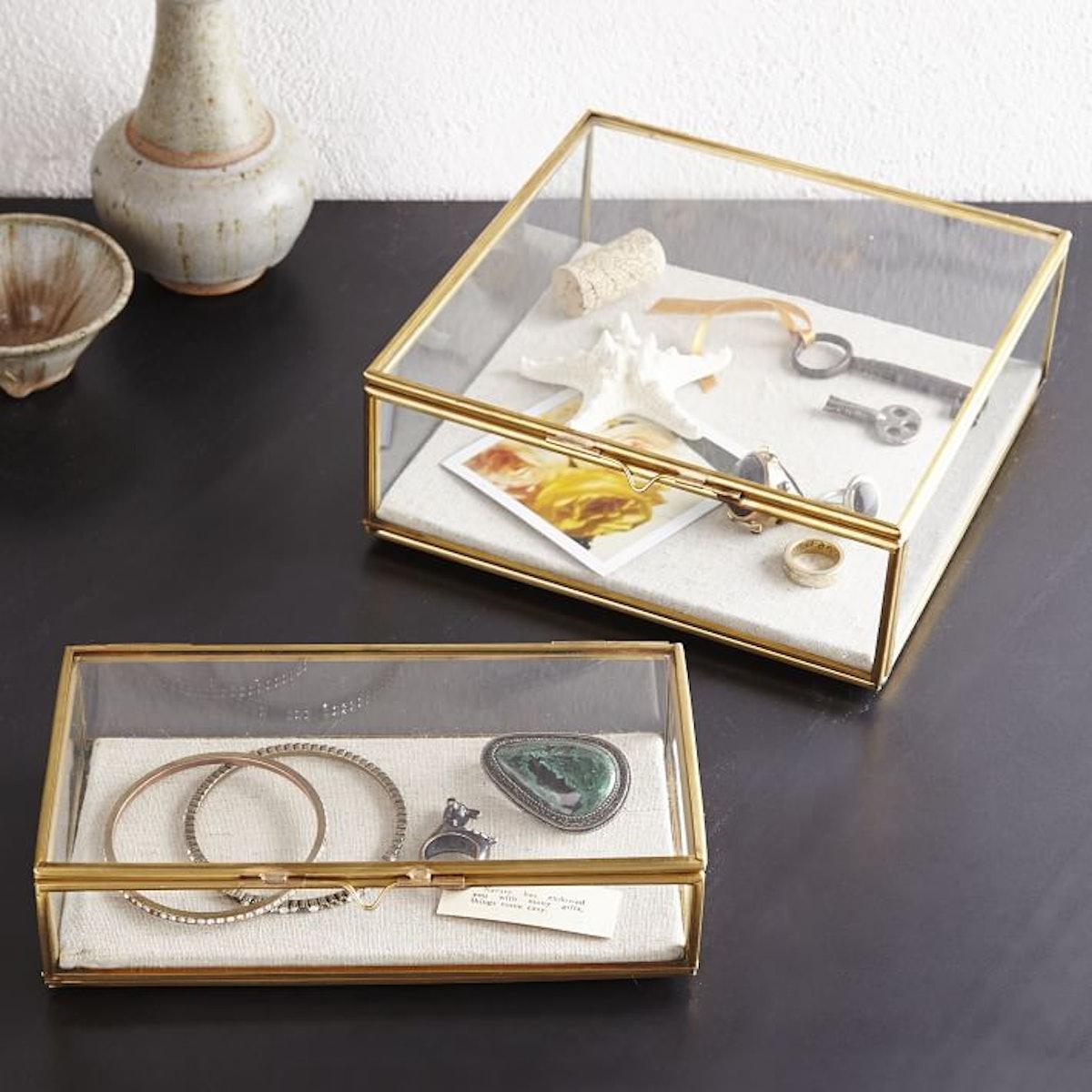 Glass Shadow Box