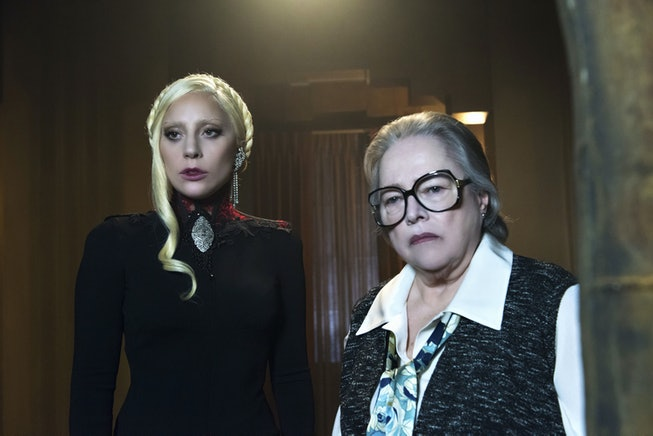 Lady Gaga and Kathy Bates in 'American Horror Story.'