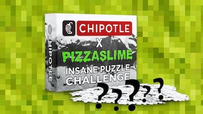 Chipotle x PizzaSlime Impossible Puzzle